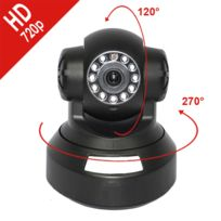 Mecer - Caméra Ip Dôme Hd 720 P motorisée interieur Wifi