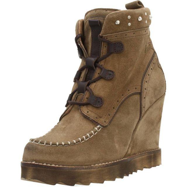 Nemonic Boots, bottines et bottes femme 2075, Marron