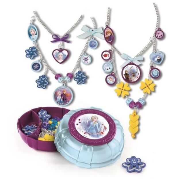JEU DE MODE - COUTURE - STYLISME - Collection de bijoux 2-en-1 - La Reine des Neiges 2