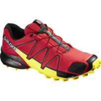 Salomon - Chaussures Speedcross 4 Red / Black