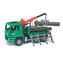 Bruder - Camion porte troncs avec 3 troncs