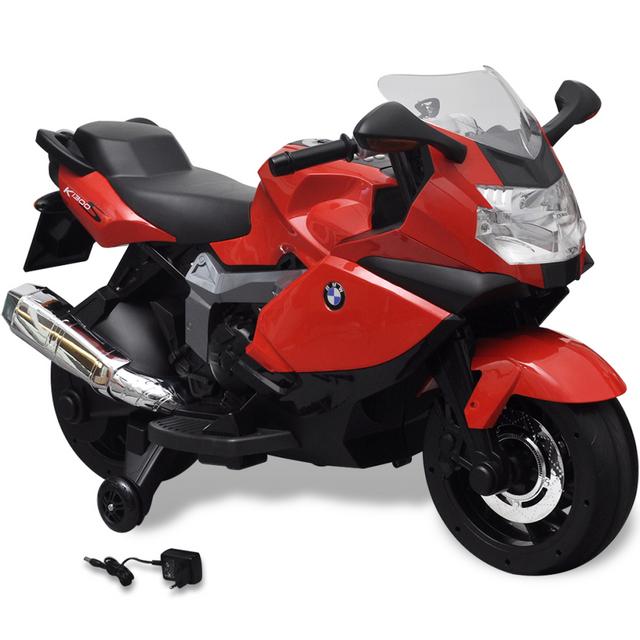 rocambolesk superbe moto lectrique bmw 283 rouge 6 v pour enfant neuf nc pas cher achat. Black Bedroom Furniture Sets. Home Design Ideas