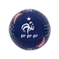 FFF - Ballon de football - Taille 5 - Bleu