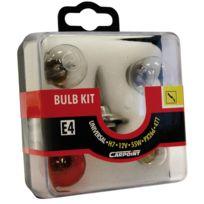 Adnauto - Coffret Ampoule H7 55W - Ba15s - Ba9s - fusible