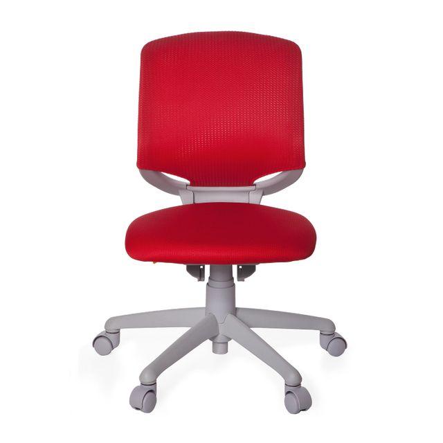 hjh office si ge de bureau pour enfant si ge tournant kid move grey rouge gris pas cher. Black Bedroom Furniture Sets. Home Design Ideas
