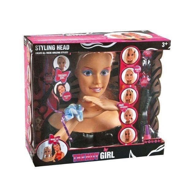 Otto Tête à coiffer Trendy Girl avec accessoires