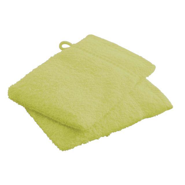 les douces nuits de ma gants de toilette foug re 100. Black Bedroom Furniture Sets. Home Design Ideas