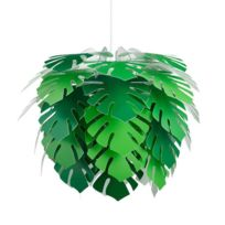 Dyberg Larsen - Illumin Philo-suspension Feuilles Ø45cm Vert