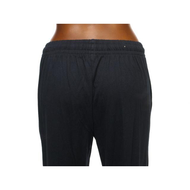 Kappa - Pantalon de survêtement Costo noir logo fushia Noir 92959