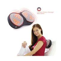 Marque Generique - Coussin de massage et chauffant pour Nuque cervical dos pied oreiller de massant shiatsu