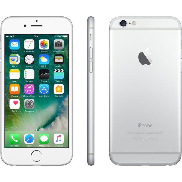 Apple - iPhone 6 - 16 Go - Argent - Reconditionné