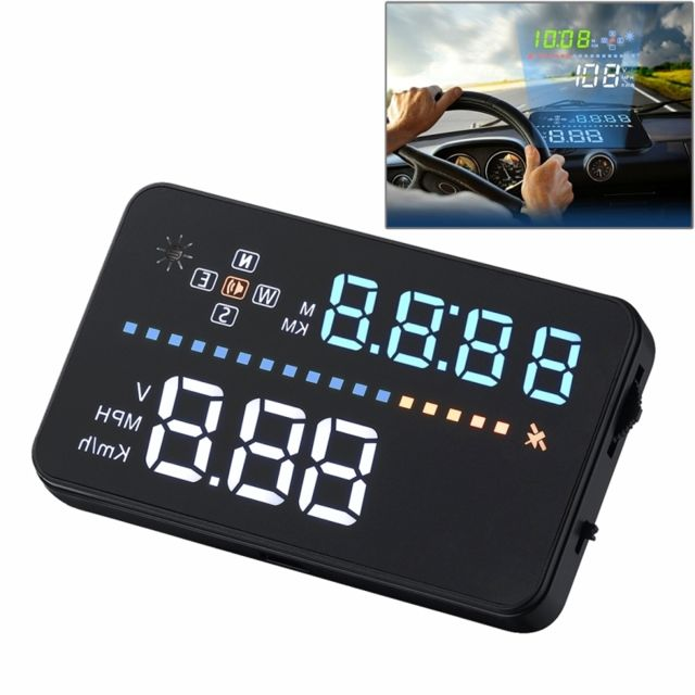wewoo affichage t te haute a3 3 5 pouces voiture gps hud obd v hicule mont gator automobile. Black Bedroom Furniture Sets. Home Design Ideas