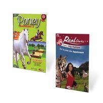 Mindscape - Pack 2 Jeux Real Stories Sur La Piste De Appaloosas, Poney Aventure 3 - Pc