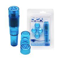 Sex In The Shower - Stimulateur Waterproof Mini Massager Bleu
