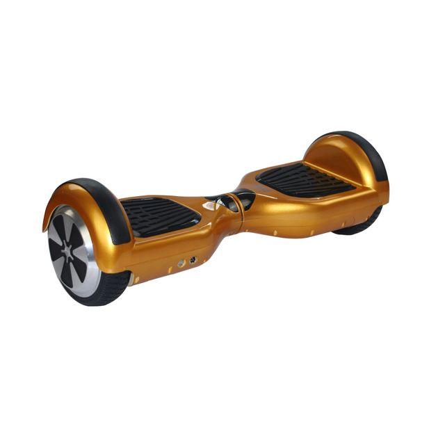 Cool And Fun - Cool&FUN Hoverboard, Scooter électrique Auto-équilibrage,gyropode 6,5 pouces Doré