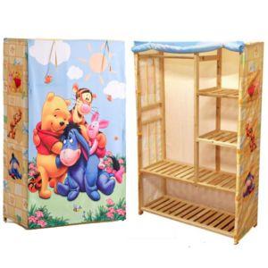 jemini penderie armoire winnie l 39 ourson disney pas cher achat vente armoire enfant. Black Bedroom Furniture Sets. Home Design Ideas
