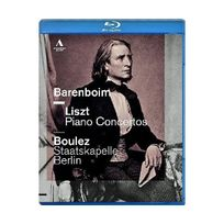 Accentus Music - Concertos Pour Piano N 1 & 2. Consolation N 3 Valse Oublie N 1 Blu-ray