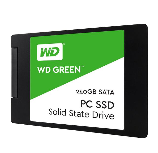 WESTERN DIGITAL Disque Dur Green 2,5 pouces SSD, SATA 6G - 240 GB