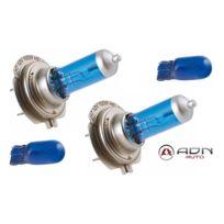 Adnauto - 2 Ampoules Spectra H7 12V 100W 5700K - Px26D - 2 Ampoules T10 12V 5W - W2.1x9.5D