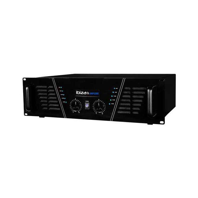 Ibiza Amplificateur sono 2 x 800 W Max Amp-1000-S