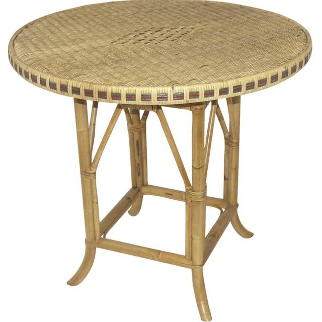 AUBRY GASPARD Table rotin