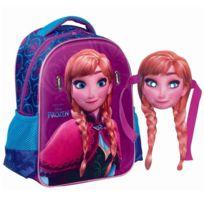 Frozen - Sac à dos maternelle La reine des neiges Anna 31 Cm - Cartable
