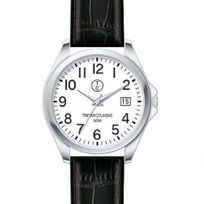 Trendyclassic - Montre Homme Trendy Classic modèle Whitley Blanche et Noire - Cc1036-01D