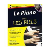 Editions First - Le Piano pour les Nuls - Marc Rozenbaum +CD