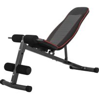 Gorilla Sports - Banc de musculation multi-positions extra large abdominaux Gs027