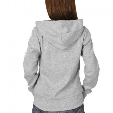 Adidas originals Veste à capuche Ess 3S Hood Noir