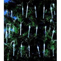 No Name - Guirlande Led 50 glaçons avec bulles d'air - Blanc - Intérieur ou extérieur Ip44 - 8 jeux de lumières - Noël
