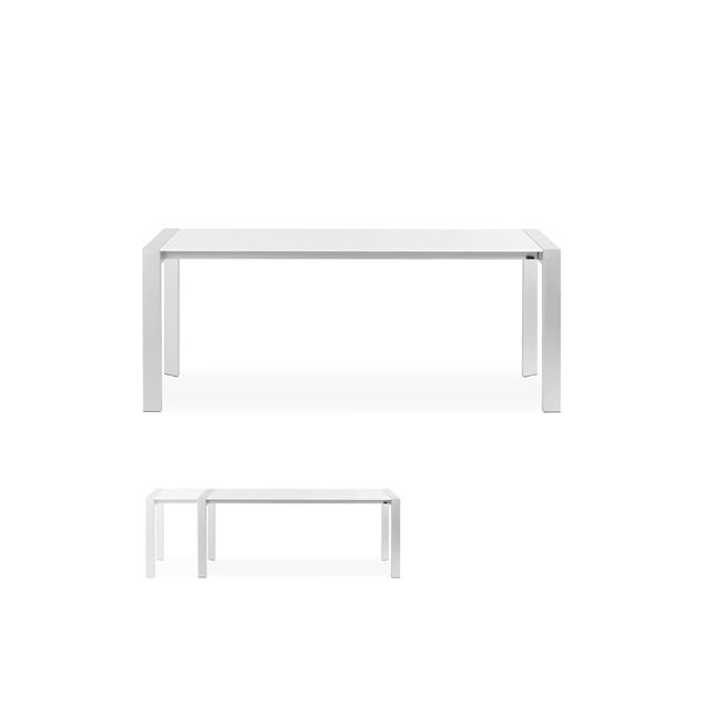 Table à diner design 95x190x75cm Vigoli