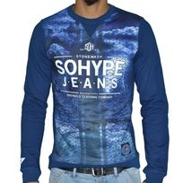Sohype - So Hype - Sweat Shirt - Enfant - Sh Jeans Junior - Bleu
