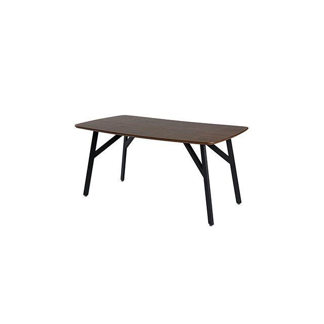 Table repas 160X77X90cm décor chêne foncé