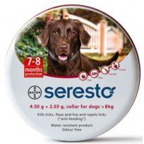 Bayer - Pack 3 X Seresto Collier Antiparasitaire Chiens De Plus De 8 Kg