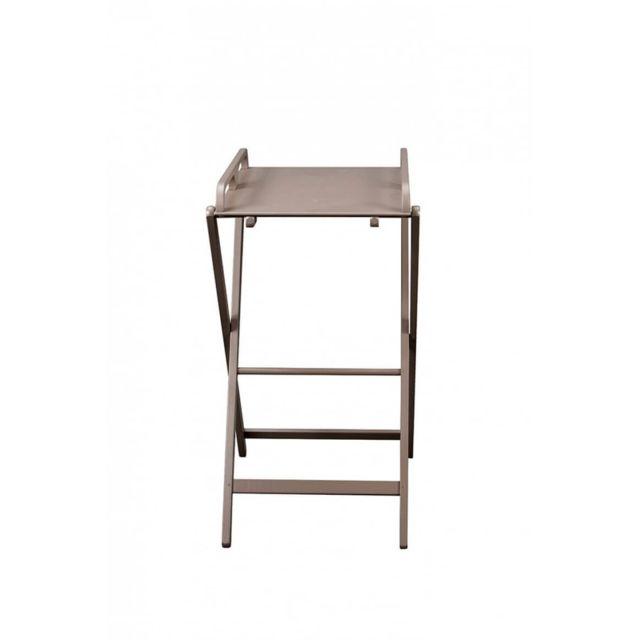 Combelle Table A Langer Pliante Jade Laque Taupe Pas Cher