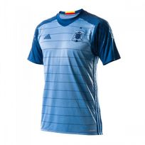 Adidas - Maillot Sélection espagnole gardien Domicile Euro 2016 Light blue-Dark marine Taille L