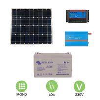 Victron - Kit solaire autonome 80w - 230v monocristallin