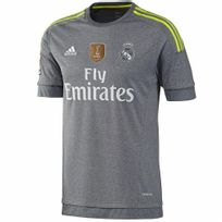 Adidas - Performance-Maillot Real Madrid A Jsy Wc 2014 Gris Ak2491