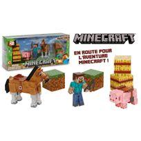 MINECRAFT - Figurine Coffret Aventure - 2440