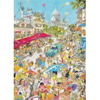 KING - Puzzle Adulte - La Ville de Paris - Comic - 1000 Pieces