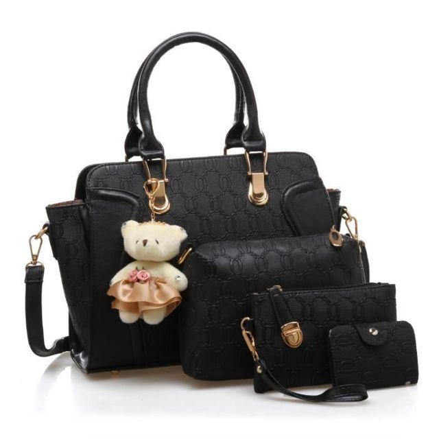 Set de sacs Femme Porté épaule Noir