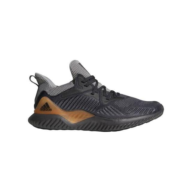 best sneakers da928 79f08 Adidas - Chaussures adidas AlphaBounce Beyond noir gris marron