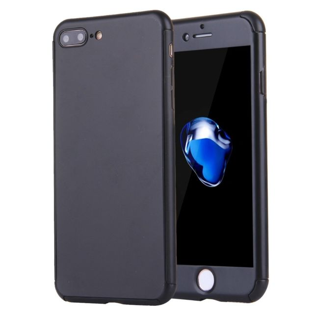 coque iphone 8 plus 360 degrés protection en verre trempé
