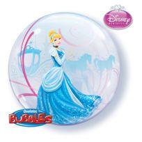 Qualatex - Ballon Bubble Cendrillon - Disney