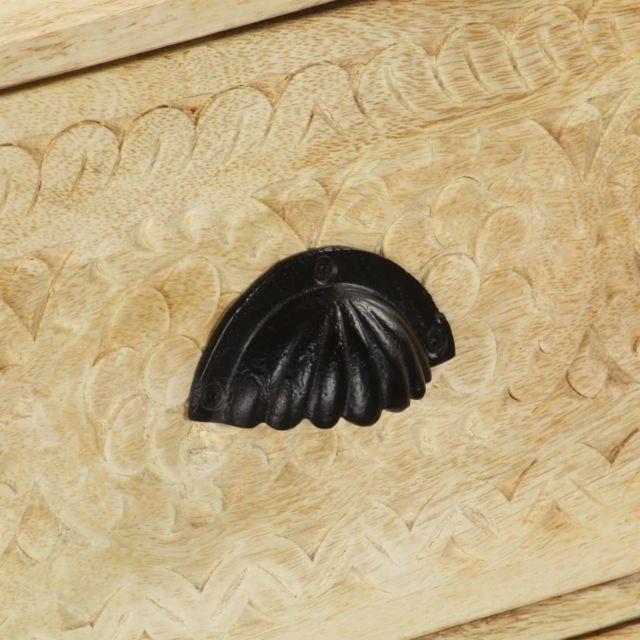 Icaverne - Buffets & bahuts famille Coffre à tiroirs 60x30x75 cm Bois solide de manguier
