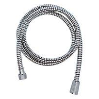 Idro-bric - flexible de douche - grohe relexaflex - 1.5 mètre - 15 x 21 - renforcé aux extrémités - chromé - grohe 28151000