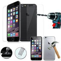 Cabling - Compatible fonction 3D Touch iPhone 6 6s 2 Films Protection premium en Verre trempé écran protecteur Front + Back avant et arriere ultra résistant Glass Screen Protector pour Apple iPhone 6/6s 4.7