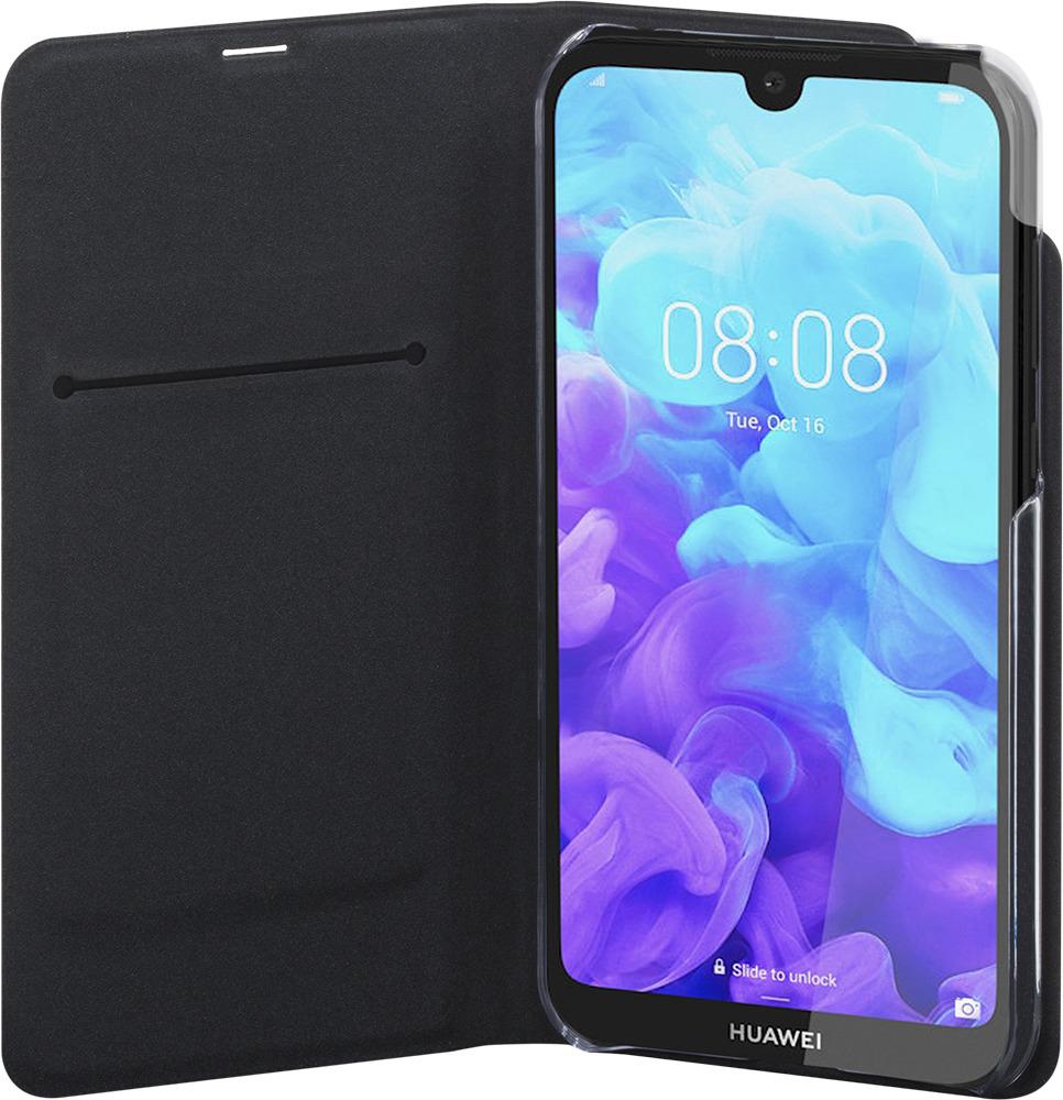 Etui folio de protection pour Huawei Y5 2019 - ETUIFHWIY52019 - Noir