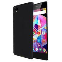 Xeptio - Archos Diamond Plus 4G - Coque gel Tpu Protection arrière clipsable noire smartphone UltimKaz - Accessoires pochette